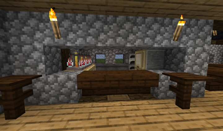 the Bar in the first floor lounge area
