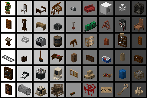3D Models used not all are there
