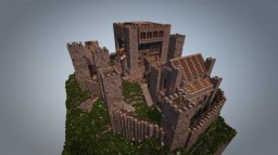 Little Medieval British Castle Keep Minecraft Map & Project
