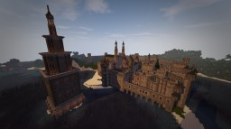 SURVIVAL MEDIEVAL CITY Minecraft Map & Project