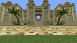 Minecraft Spawn. Sandstone Minecraft Map & Project
