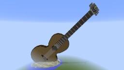 Big Guitar Minecraft Map & Project