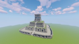 Maya/ The Temple Minecraft Map & Project