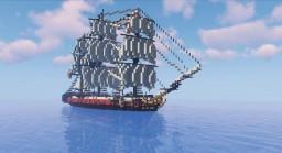 Santa Cecilia - Spanish frigate 1700s