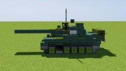 T-55 Main Battle Tank Minecraft Map & Project