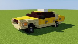 New York Taxi Cab Minecraft Map & Project