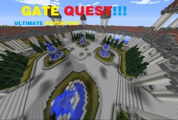 GATE QUEST ULTIMATE ADVENTURE Minecraft Map & Project