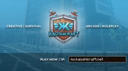 KaoshKraft Network | Survival, Creative & Roleplay server! [1.16.4+ Compatible!] Minecraft Server
