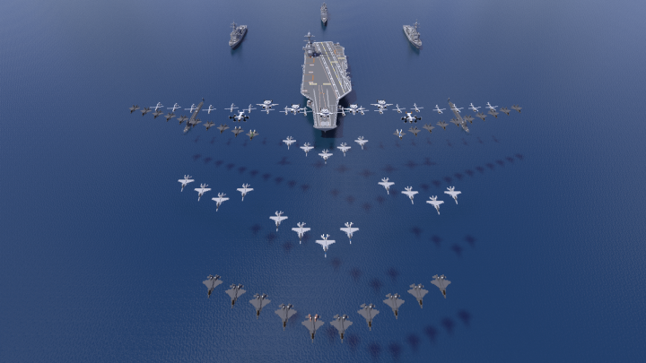 Carrying 73 aircraft in total, the Enterprise can bring American military power anywhere in the world.