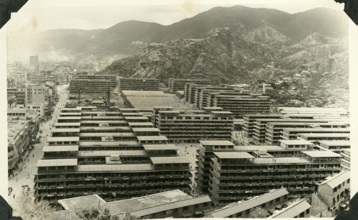 Shek Kip Mei Resettlement Area, June 1957. Photo from the Government Records Service, Hong Kong