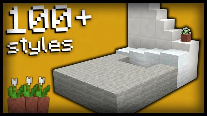 78 Bed Design 78 Modèles De Lits Minecraft Project