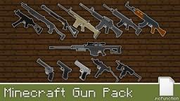Working guns in vanilla Minecraft [1.14+] Minecraft Map & Project