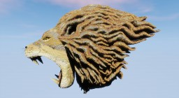 Lion head thing I made Minecraft Map & Project