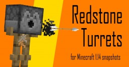 Redstone Turrets Datapack [1.14] Minecraft Data Pack