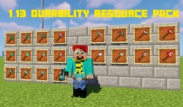 low durability tool warning Minecraft Texture Pack