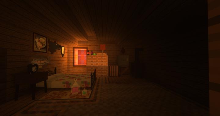Stans bedroom