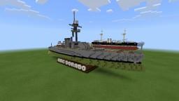 ARC Dorado | fictional monitor warship Minecraft Map & Project