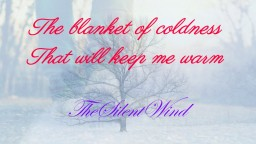 The Blanket of Coldness That Will Keep Me Warm | TheSilentWind Minecraft Blog