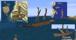 Rhudel Fleet Minecraft Map & Project