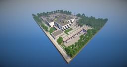 School Building Minecraft Map & Project