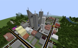 Big City Minecraft Map & Project