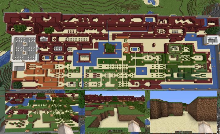 The Legend of Zelda original map Minecraft Project