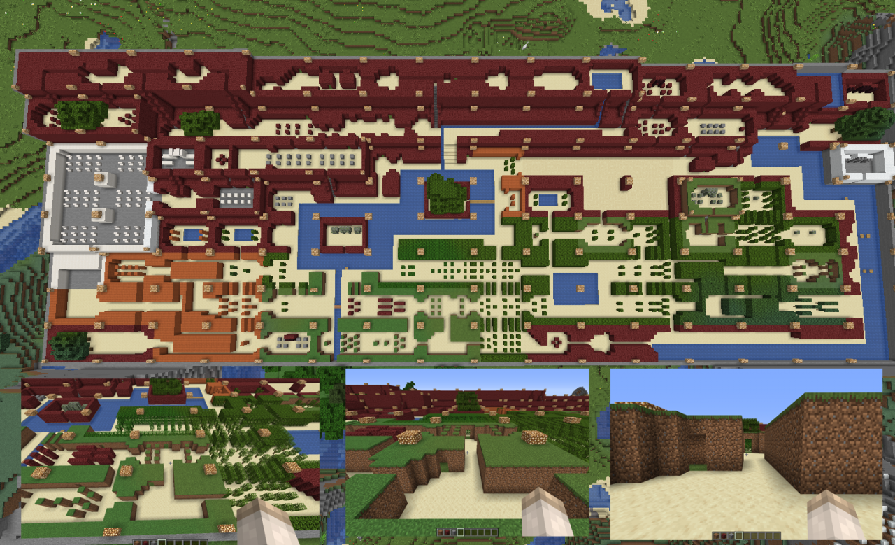 The Legend of Zelda original map Minecraft Project