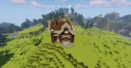 Small Survival House Minecraft Map & Project