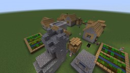 Village Escape #1: Happy Haven Minecraft Map & Project