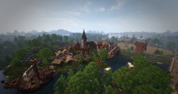 The village of Ironhill - Dormian Empire #WeAreConquest Minecraft Map & Project