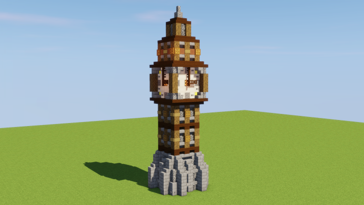 Medieval Clocktower Minecraft Map