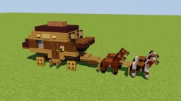 Stagecoach Minecraft Map & Project