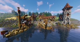 Altgardian style port Minecraft Map & Project