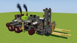 Heavy Duty Forklift Minecraft Map & Project