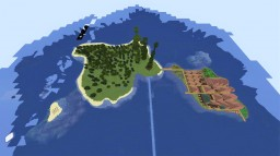 Custom Iland World minecraft vanilla aquatic 1.13.2 Minecraft Map & Project