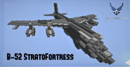 [OLD blup] Boeing B-52 StratoFortress Minecraft Map & Project