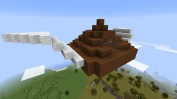 Flying Poop Minecraft Map & Project