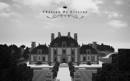 French Hunting Lodge - Chateau De Giverny Minecraft Map & Project