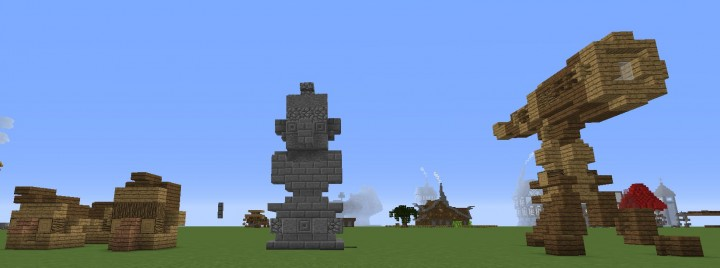 Building designs Minecraft Project