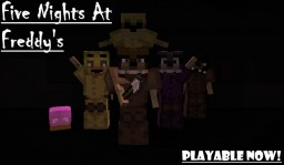 Five Nights At Freddy's Game (Working animatronics) Minecraft Map & Project