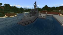 Fictional Coastal Minesweeper Minecraft Map & Project