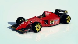 1995 FERRARI 412 T2 Minecraft Map & Project