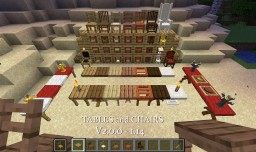Tables and Chairs V3.3.0 -  [1.15.2] Minecraft Data Pack