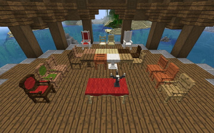 Tables and Chairs! Not all items are shown here V1.0