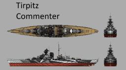 KMS Tirpitz Minecraft Map & Project