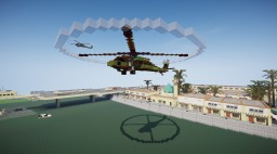 Sikorsky UH-60 Black Hawk Minecraft Map & Project