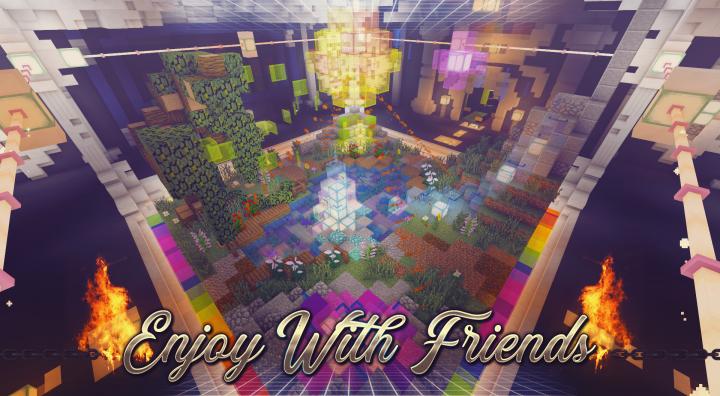 Enjoy with friends!