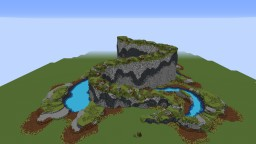 Natural Terrain with lakes Minecraft Map & Project