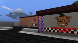 Freddy Fazbear's Pizzaria REMIXED 1.8 Minecraft Map & Project