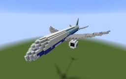 A Very Cool Plane Minecraft Map & Project